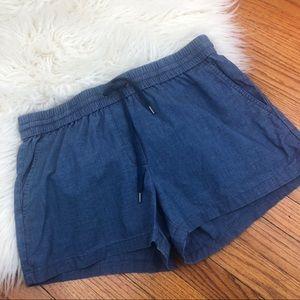 J.CREW Women's Casual  Shorts Elastic Waist Size 4